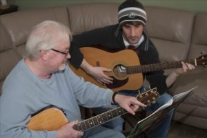 Bruce Hoff Guitar Lessons. Photo by Mark Triplett